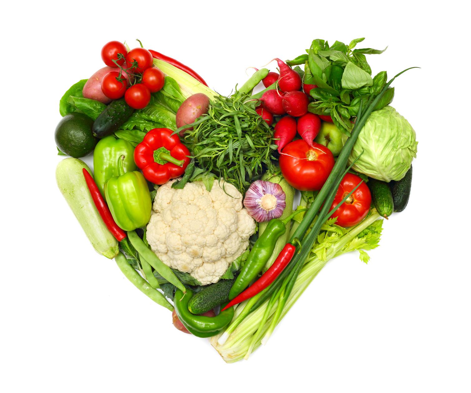 Cuore di verdura